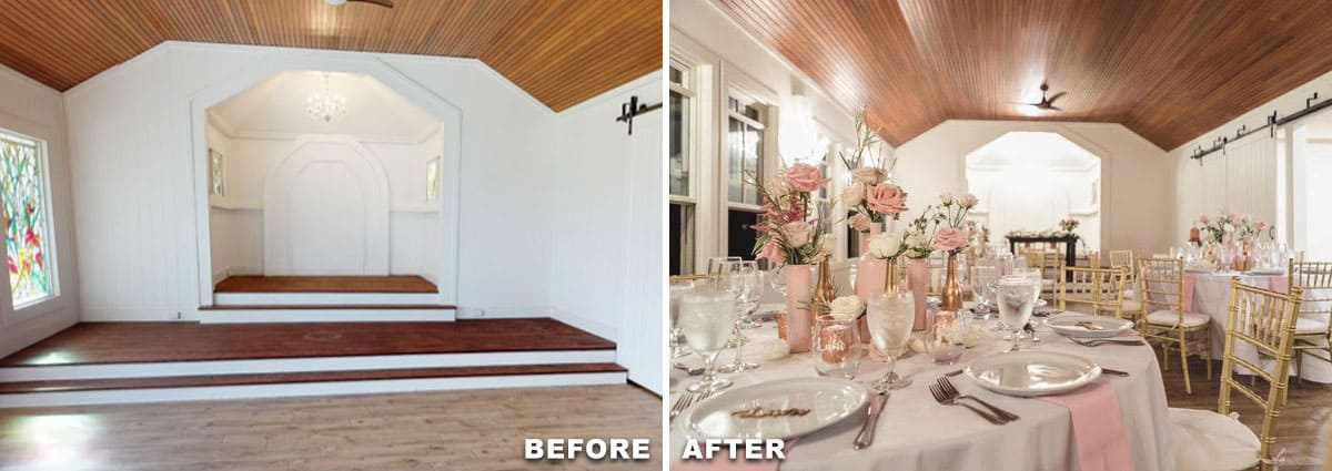 before and after staging services